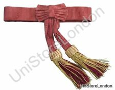 Sash,Waist Sash Belt Scots Guards Officer's gold and crimson State Sash R226