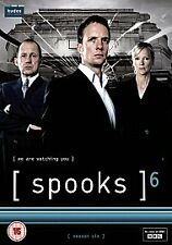 Spooks - Series 6 - Complete (DVD, 5-Disc Set) . FREE UK P+P ...................