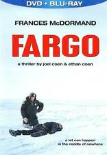 Fargo (Blu-ray/DVD, 2010, 2-Disc Set, DVD/Blu-ray)