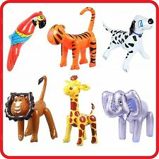 INFLATABLE BLOW-UP TOY-ELEPHANT-LION-TIGER-GIRAFFE-PARROT-SPOTTED DALMATIAN DOG
