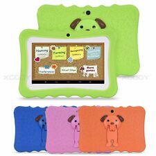 7 inch Android 4.4 Wifi Tablet PC Quad Core 8GB Dual Camera HD Screen Kids Child