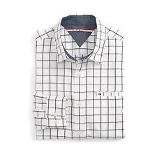New Tommy Hilfiger Mens Custom Fit Longsleeve Button Shirt White NWT