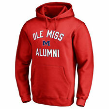 Fanatics Branded Ole Miss Rebels Red Team Alumni Pullover Hoodie - College