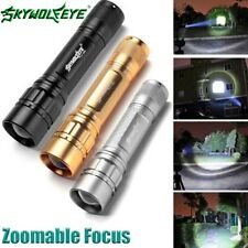 3 Colors15000LM 3-Modes Flashlight CREE XML T6 LED 18650 Zoomable Torch Lamp G