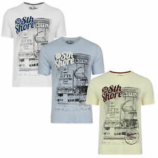 South Shore Mens Gift Shop T Shirt Retro Graphic Tee Casual Short Sleeved Top