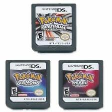 NEW Pokemon Platinum,Diamond,Pearl Version Game Cartridges for Nintendo 3DS GIFT