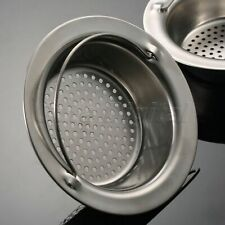 Hand-held Stainless Steel Kitchen Sink Strainer Drainer Waste Filter 11CM/9CM