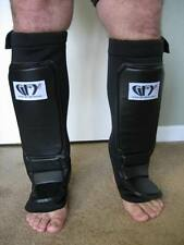 GFY Sparring Grappling MMA Shinguards Shin Instep Guards Neoprene (1 Pair)