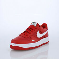 Boys' Nike Air Force 1 (GS) Shoe 	596728-602 UNIVERSITY RED/WHITE-WHITE-BLACK