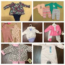 LOT of Girls Clothes 0-3 Months & 3-6 Months. LOTS OF NWT! Name Brands!