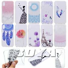 For iPphone X Dandelion soft TPU phone case protective skin rubber silicone gel