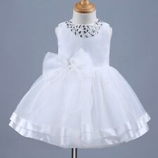 Infant Baby Flower Girl Birthday Princess Dress Wedding Bridesmaid Pageant Party