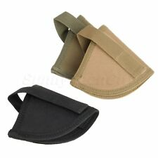 Durable Nylon Military Hook Pistol Gun Handgun Holster Holder Safe Storage Pouch