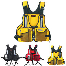 1PC Adult Life Jacket Buoyancy Aid Kayak Canoeing Fishing Life Vests Jacket