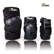Adult Knee Elbow Wrist Pads 3 In 1 Protective Gear Guards Set Skateboarding Kit