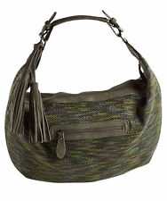 Joe Browns Womens Textile Hobo Slouch Bag with tassel