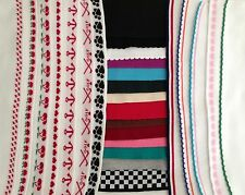 Assorted Doubleknit Collars/Cuffs/Trim Bulk Purchase Options Free Shipping!