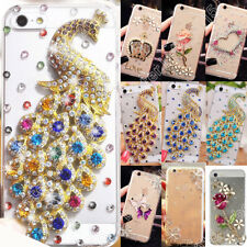 DIY Rhinestone Case For iPhone Acrylic Crystal Cover For Samsung Bling Patterned