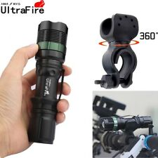 Ultrafire 12000LM Zoomable CREE XML T6 LED Flashlight Torch Super Bright Light D