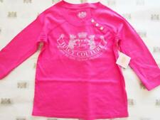 Juicy Couture Scottie Born in Glamorous USA Gold Button Top Tee NWT 10 12