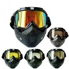 Outdoor Motorcycle Goggles Mask Cycling UV400 Anti Wind Sports Ski Glasses
