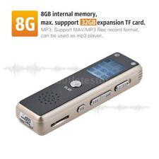 8G Best Voice Mini USB Digital Audio Voice Operated Recorder Mp3 Dictaphone T7Y2