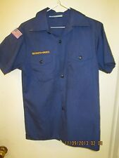 BSA/Boy, Cub Scout Navy Blue Shirt, Short Sleeve Youth/Boys - 5