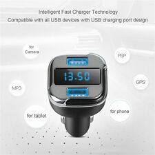 E5 Car Dual Port USB Charger Adapter For GPS phone tablet Camera MP3 PSP lot PZ