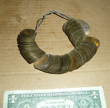 Vintage Brass & Chrome Fish,Fishing Lure,Plug Spinner Blades,Lure Parts,Ring of