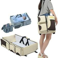 Baby Travel Bag Portable Waterproof Baby Crib Folding Bed Baby Bassinet Diaper