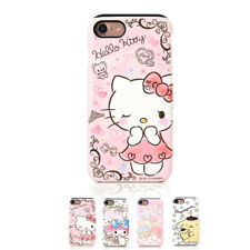 Hello Kitty Art Collection Hard Dual Bumper Case For Apple iPhone 6 6S 6/6S Plus