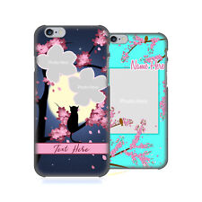 CUSTOM CUSTOMIZED PERSONALIZED DREAMY BLOSSOMS BACK CASE FOR APPLE iPHONE PHONES