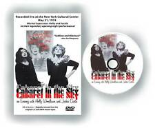 Holly Woodlawn RARE Signed and Kissed Cabaret in the Sky DVD Warhol superstar