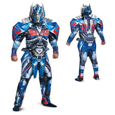 Mens Optimus Prime Deluxe Transformers Costume