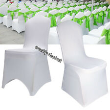 2/50-100 Chair Covers Spandex Lycra Wedding Banquet Anniversary Party Reception