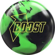 NEW 900 Global Boost Pearl Reactive Bowling Ball, Black/Green, 10, 11 & 12 LB