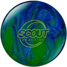 NEW Columbia 300 Scout Solid Reactive Bowling Ball, Blue/Green, 10, 11 & 12 LB