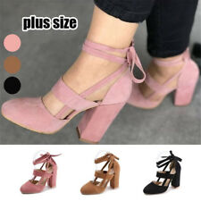 3 Colors  Shoes Straps Suede Leather Thick High Women Fashion Party Sandals