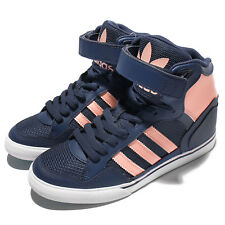 adidas Originals Extaball Up W Navy Pink Women Wedge Casual Shoes Sneaker BY2330
