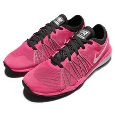 Wmns Nike Dual Fusion TR Hit Pink Black Womens Cross Training Shoes 844674-600