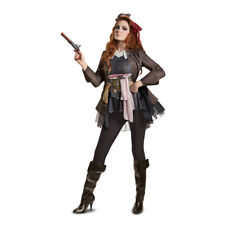 Womens Captain Jack Sparrow Deluxe Pirate Costume
