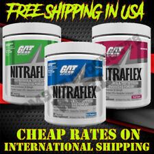 GAT NITRAFLEX Powerful Pre-Workout Testosterone Booster 30 Servings FREE SHIPPIN
