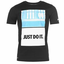 Nike Core Just Do It T-Shirt Mens Black Sportswear Top Tee Shirt