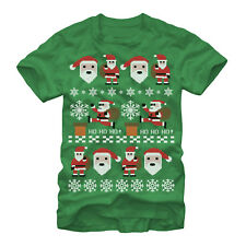 Lost Gods Santa Claus Ugly Christmas Sweater Mens Graphic T Shirt