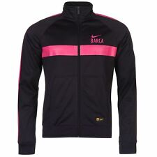 Nike Barcelona Training Jacket Mens Purp/Pnk Football Soccer Tracksuit Track Top