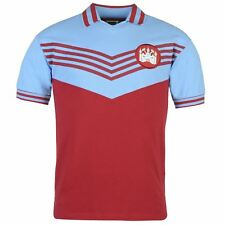 West Ham United FC 1976 Home Jersey Score Draw Mens Retro Football Soccer Shirt
