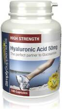 Hyaluronic Acid 50mg | Skin, Hair, Nail & Joint Care | UK Made | GMP Approved