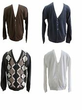 Empra Mens V-neck Button Down knitted sweater cardigan