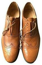 """Paul Smith """"PS Collection"""" TAN Leather Carson Oxford Brogue Shoes UK 7 EU 41"""