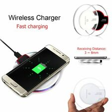 NEW Universal Wireless Qi Charging Phone Charger Dock For Samsung Galaxy S6 S7